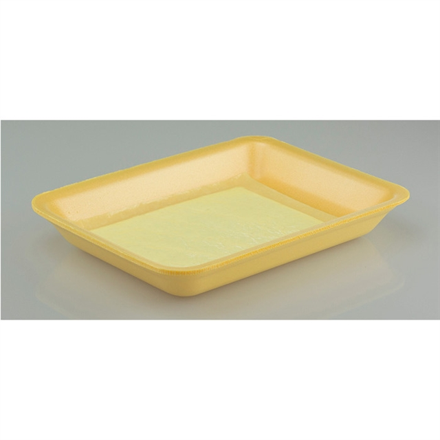 3P YELLOW PROCESSOR TRAY W/ PAD