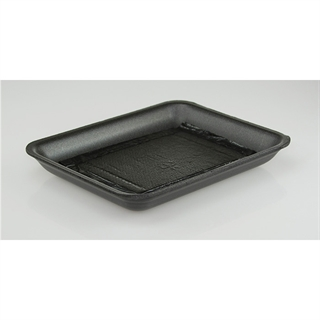 10D BLACK FOAM PROC TRAY W/ NON-SAP PAD