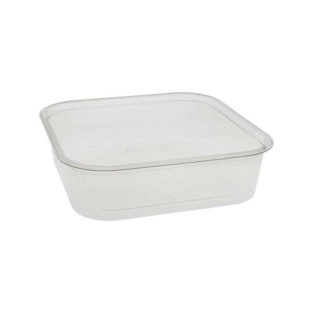 8 in Square 64oz Container
