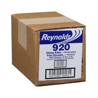 "Reynolds® 6"" x 5"" Pre-Sized Sheets on a Roll (S.O.A.R), 1 Ct."