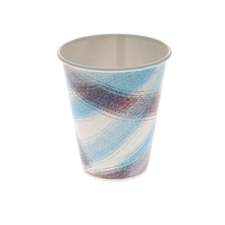 12 oz. Poly Coated Paper Cold Cup, Impact Print, White, 1,200 ct.