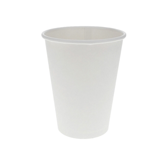 12 oz. Paper Hot Cup, White, 1,000 ct.