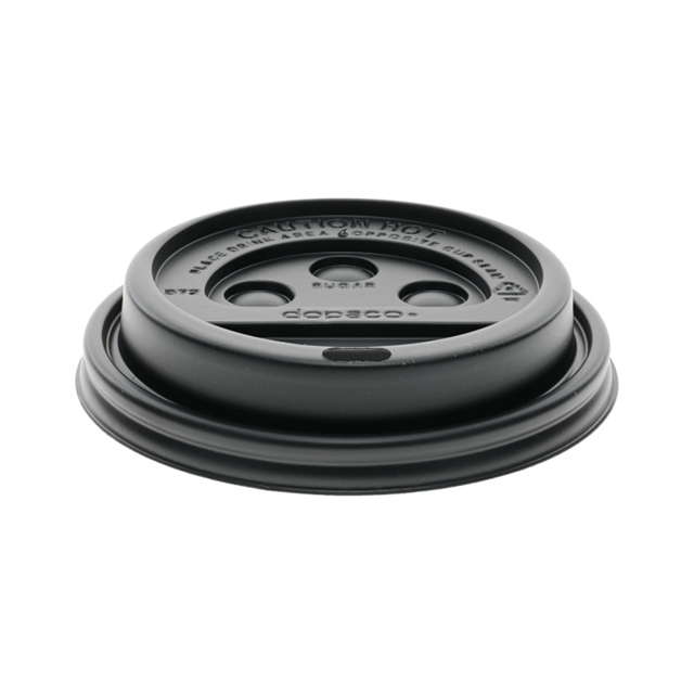 ST CL HOT 10SQ 10-24 BLACK DOME LID 1000