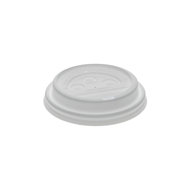 USF-CUP LID,HOT 10-24OZ WHTE DOME 1000CT