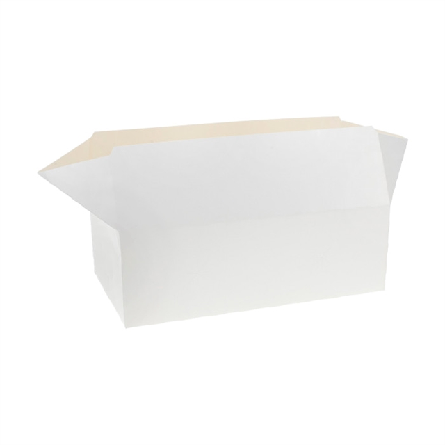 USF-CONTAINER SNACK, 9X4 WHITE 400CT