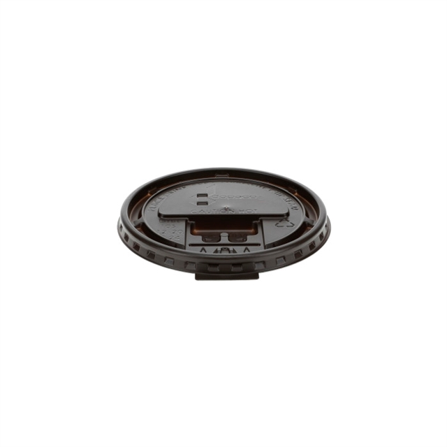 ST CL HOT 10Z  10S-24Z BROWN TB LID 1000