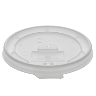 Tear Back Lid for 8 oz. Hot Paper Cup, White, 1000 ct.