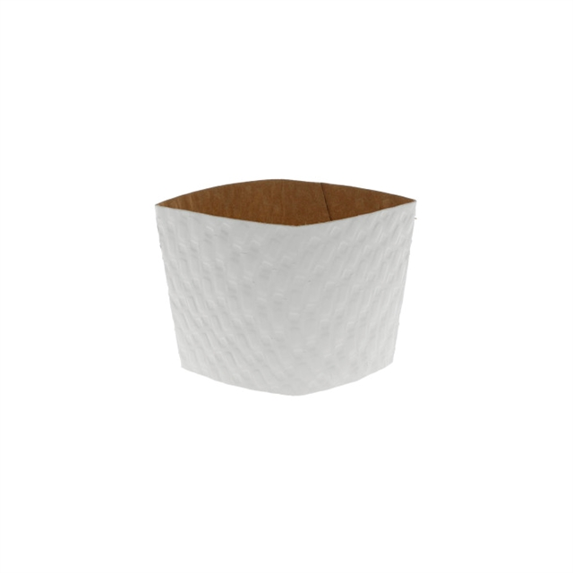 WHITE HOT CUP SLEEVE