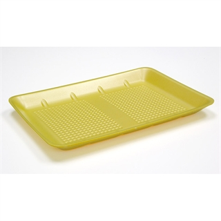 #1014 YELLOW HEAVY SUPERMARKET TRAY