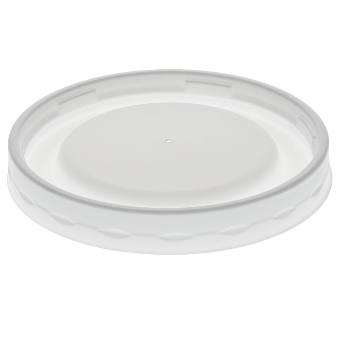 Flat Lid for 8/12/16 oz. PLA Paper Hot Cup, White, 1,000 ct.