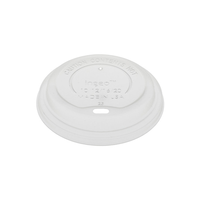 12–20 oz Lid for Paper Hot Cup, White 1,000 ct.