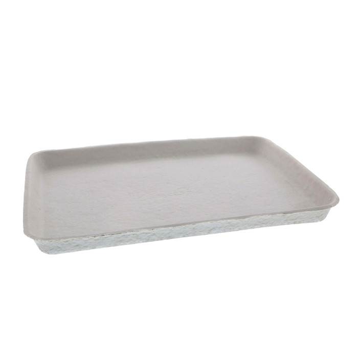 "9"" x 12"" Fiber Blend Cafeteria Tray, Natural, 250 ct."
