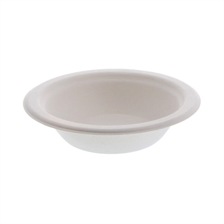12 oz Compostable Fiber-Blend Bowl, White, 1,000 ct.