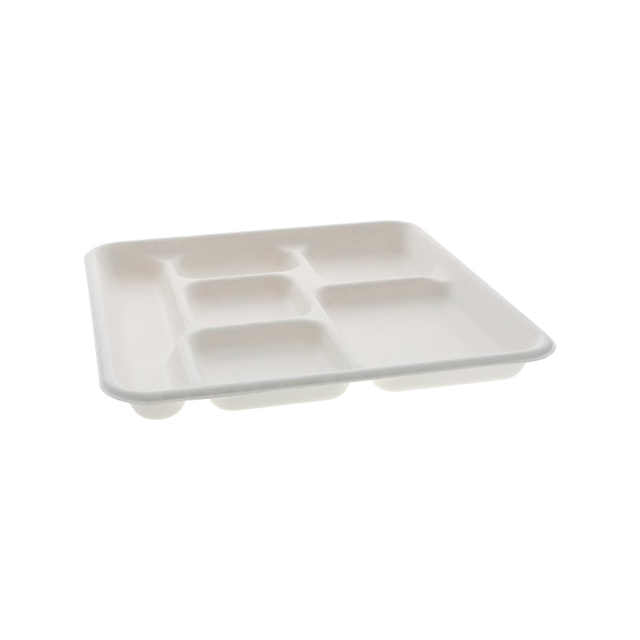 Fiber Tray 6 Jr. cmpt. White