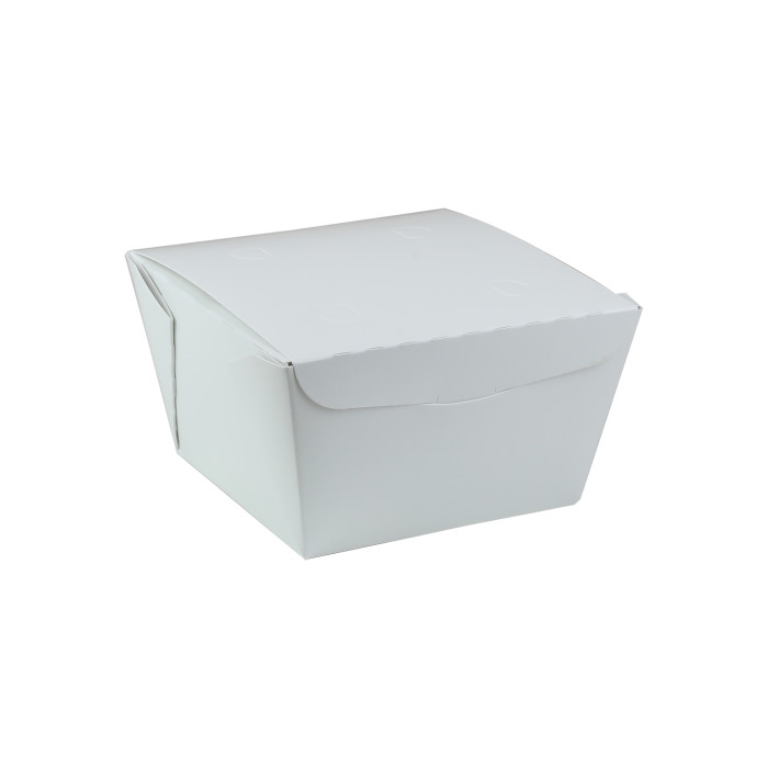 "#1, 4.5"" X 4.5"" X 2.5"", 37 oz. OneBox® White Paper Box, 456 ct."