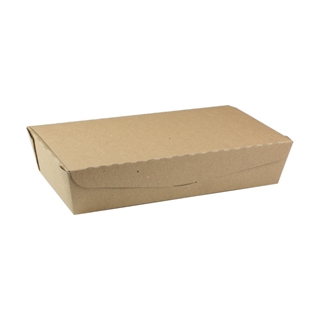 "#2, 9.0"" X 4.85"" X 2.0"", 55 oz. OneBox®Paper Kraft Box, 100 ct."