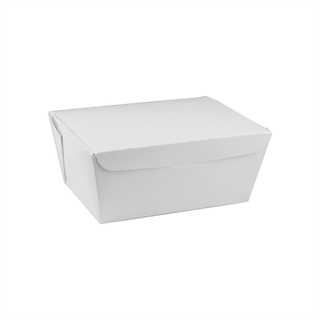 "#3, 6.5"" X 4.5"" X 3.25"", 66 oz. OneBox® White Paper Box, 160 ct."