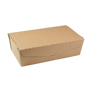 "#4, 9"" X 4.85"" X 2.7"",  77 oz. OneBox® Paper Kraft Box, 162 ct."