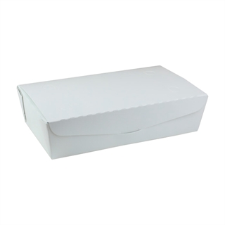 "#4, 9"" X 4.85"" X 2.7"",  77 oz. OneBox® White Paper Box, 162 ct."