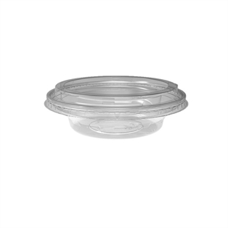 5/6 oz. Deli2Go™ Plastic Microwavable Side Container Base, Natural, 900 ct.