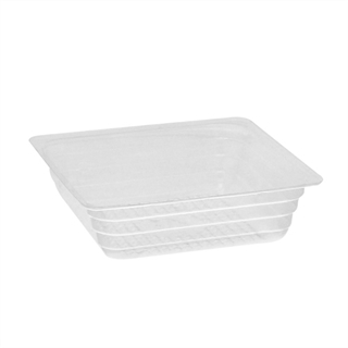 OPS 4 oz Square Portion Container Clear