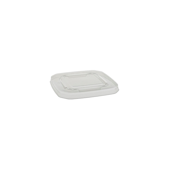 DENESTABLE SQUARE LID CLEAR