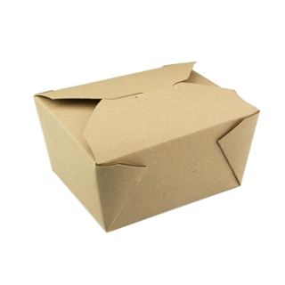 "#1, 5"" x 4.5 "" x 2.5"" 100% Recycled Paper Kraft Box, 495 ct."