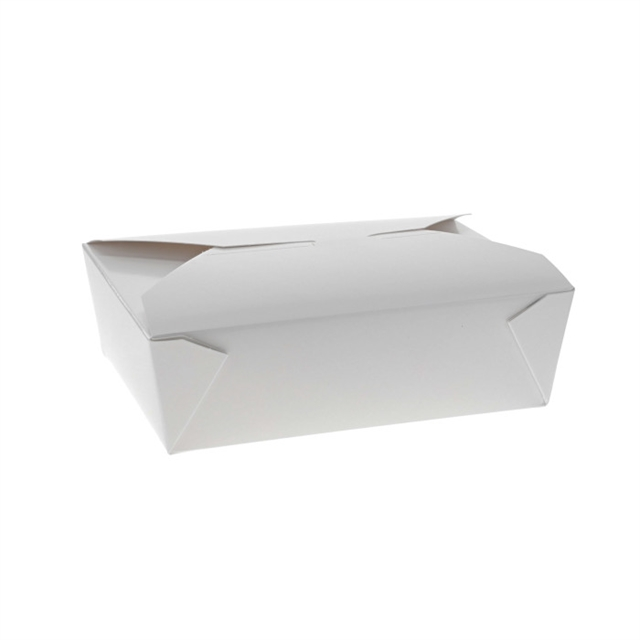 "#3, 6"" x 8"" x 2"" OneBox Paperboard Container, White, 160 ct."