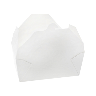 "#4, 6"" x 8"" x 3"" OneBox Paperboard Container, White, 160 ct."