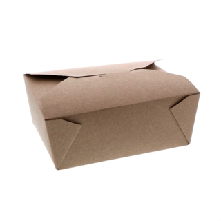 "#8, 5"" x 6"" 100% Recycled Paper Kraft Box, 240 ct."