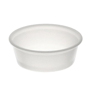 1.5 oz Souffle Cup Clear 10-250 Bag