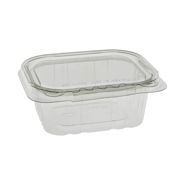 Tehl5x412 12 Oz Tamper Evident Recycled Plastic Hinged