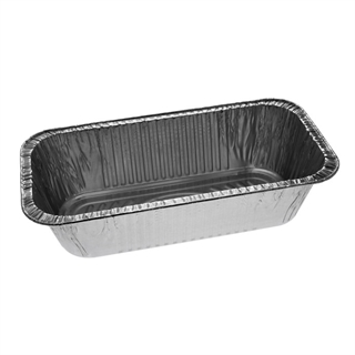Third-Size Deep Foil Loaf Pan, Silver, 200 ct.