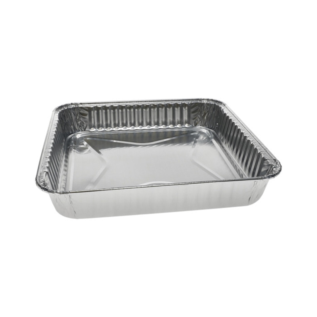 8in SQUARE CAKE PAN FULL CURL