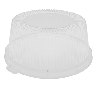 "6"" Clear OPS Plate Dome Lid"