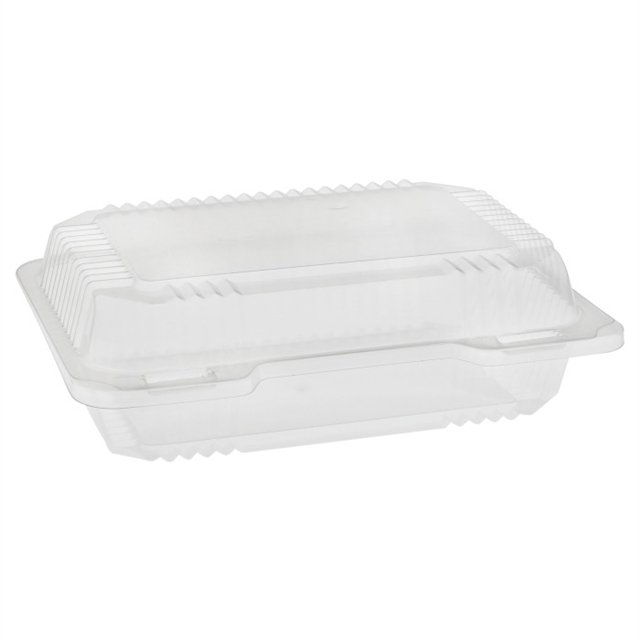 OPS CLEARVIEW SMALL RECT. HINGED LID-CL