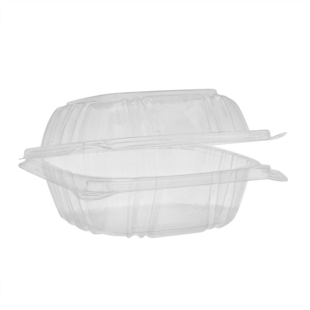 "OPS SENS 5"" HINGED LIDS SANDWICH-CLEAR"