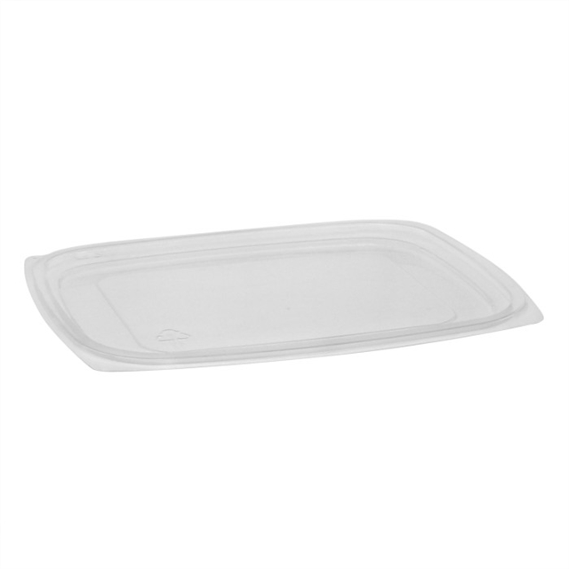 OPS DELI FLAT LID FOR 24 &32 OZ-CLEAR