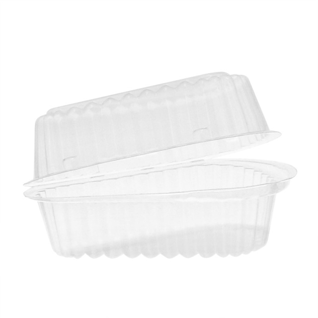 "OPS PIE 6"" HINGED WEDGE-CLEAR"