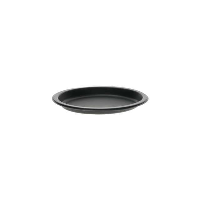 "11"" x 7"" Microwavable Oval Platter, Black, 252 ct."