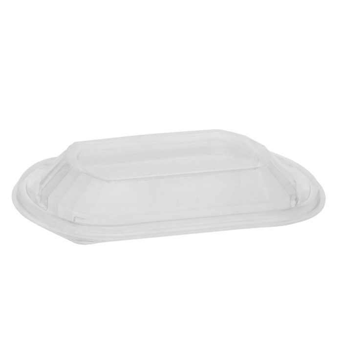 Container Lids 1.96 Length Pack of 100 1 Compartment Pactiv ...