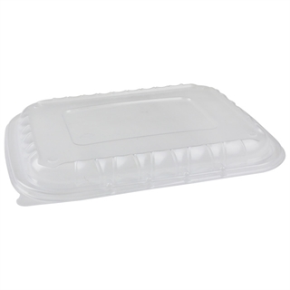 "Vented Lid for 12X9"" Base, Clear, 200 ct."