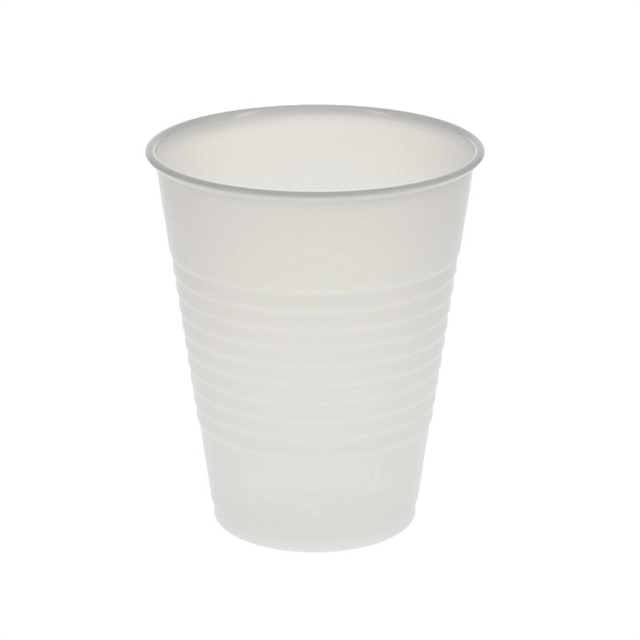 12 oz. Plastic Cold Cup, Translucent, 855 ct.