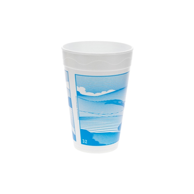 32OZ EPS FOAM PRT CUP VISTA 20-25