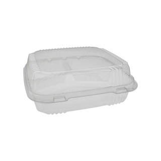 Yli811200000 8 X 8 Pla Hinged Lid Container