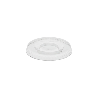 1 oz. Recycled Plastic Flat Lid for YS102, Clear, 5,520 ct.