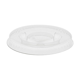 1 OZ FAT RESISTANT CLEAR FLAT LID