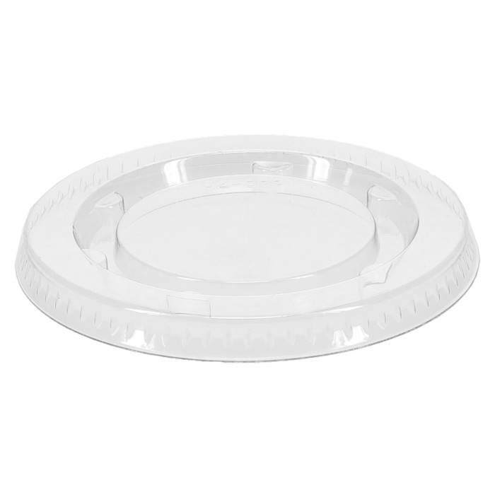 Plastic Lid for 2 oz. Portion Cup, Clear, 2,400 ct.