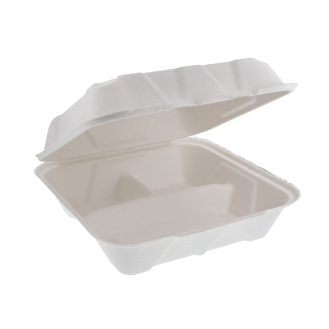 EARTHCHOICE 9 X 9 - 3 CMPT BAGASSE DUAL