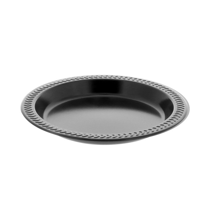 6\  PLASTIC PLATE MW EBONY  sc 1 st  Tabletop & Tabletop